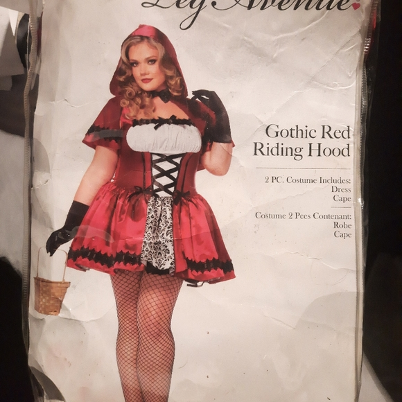 Leg Avenue plus size Red riding hood costume